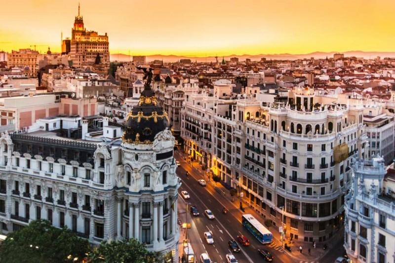 Поездка в Мадрид с малышом