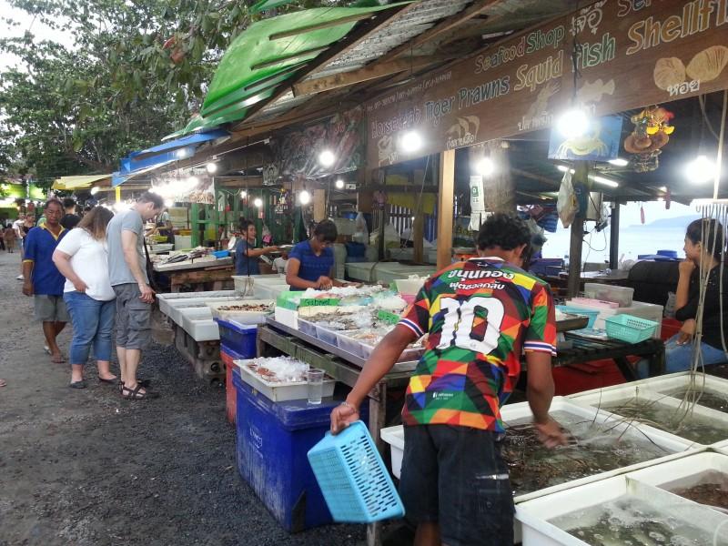 Пхукет, Рынок морепродуктов