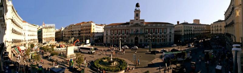 Мадрид. Площадь Пуэрта-дель-Соль