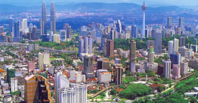 Куала Лумпур с грудничком